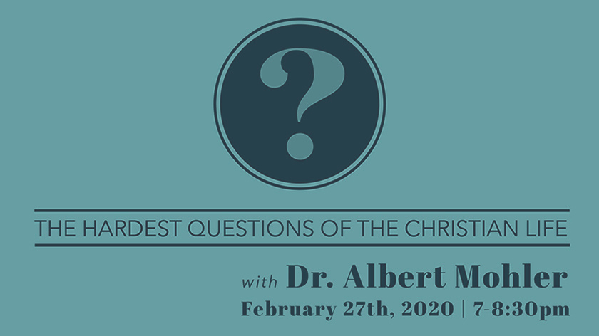 A Evening with Al Mohler